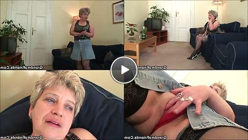 free blonde granny hd porn video